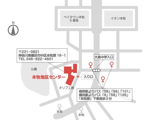 開催場所マップ