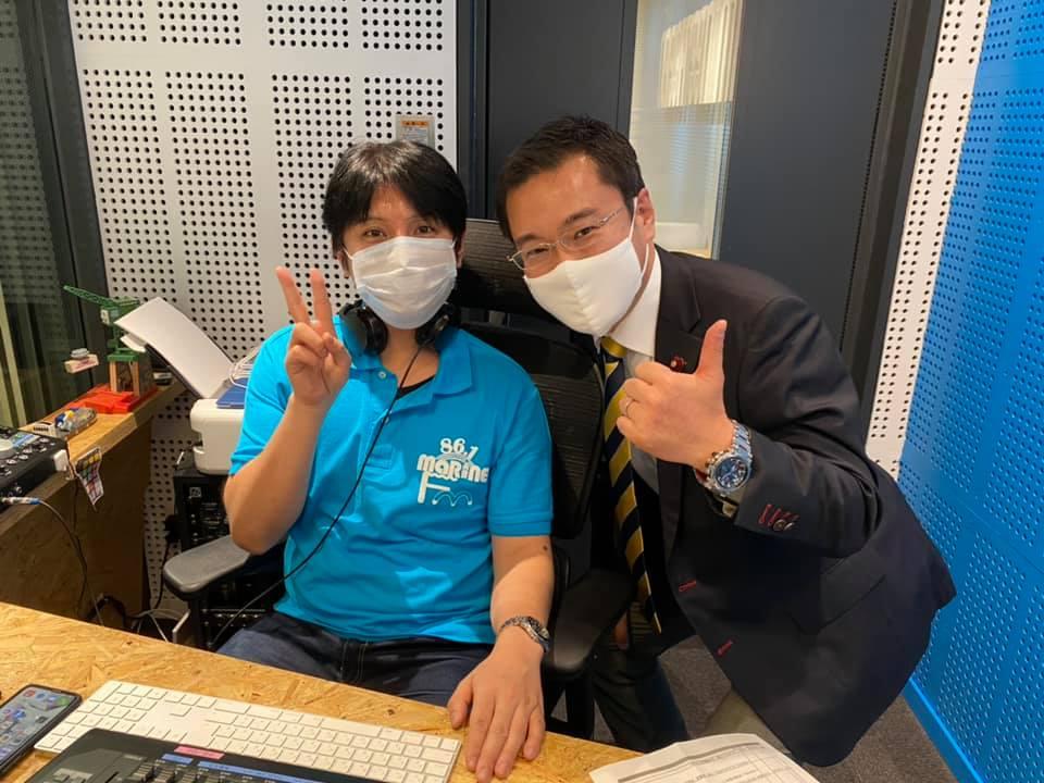 マリンFM「としちゃんの住んで良いまち横浜」2020年12/14OA
