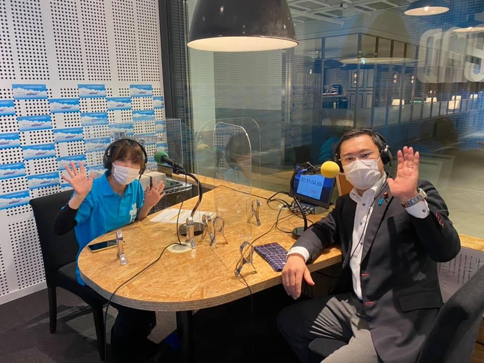マリンFM「としちゃんの住んで良いまち横浜」2021年2/8OA