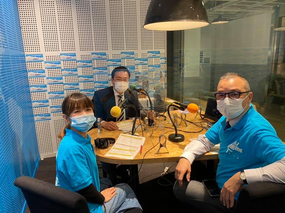 マリンFM「としちゃんの住んで良いまち横浜」2021年4/12OA