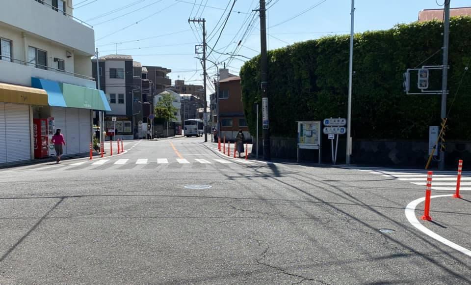 【安全なバス停に】地域の声、実現いたしました