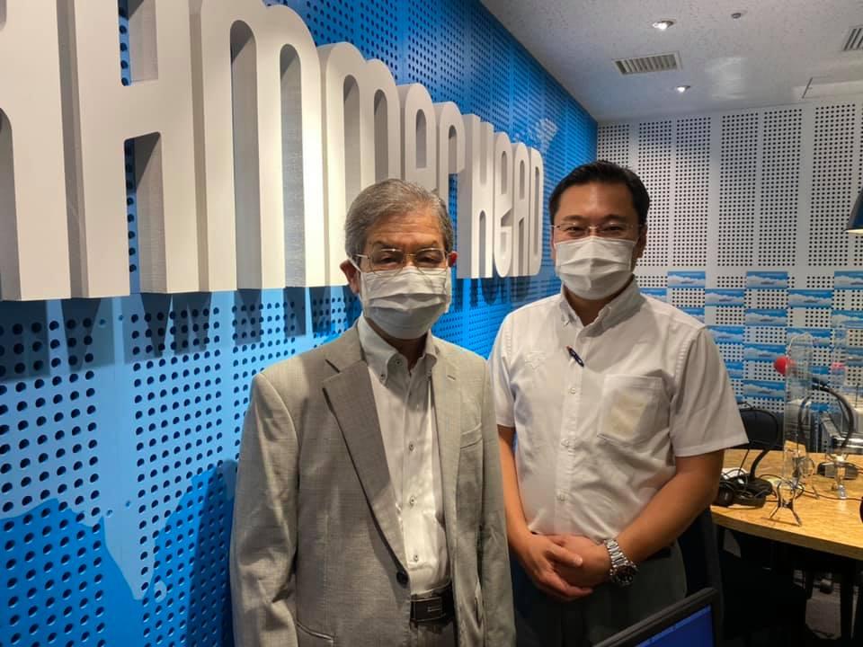 マリンFM「としちゃんの住んで良いまち横浜」2021年6/14OA