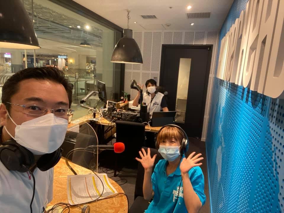 マリンFM「としちゃんの住んで良いまち横浜」2021年7/12OA